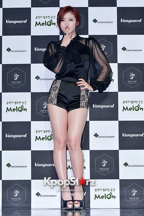 SECRET's Jun Hyosung Holds her 'TOP SECRET' Showcase'key=>14 count28