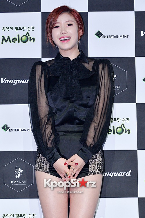 SECRET's Jun Hyosung Holds her 'TOP SECRET' Showcase'key=>17 count28
