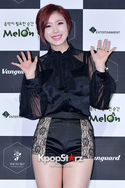 SECRET's Jun Hyosung Holds her 'TOP SECRET' Showcase'key=>19 count28