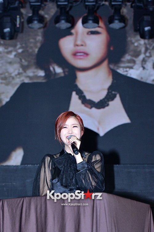 SECRET's Jun Hyosung Holds her 'TOP SECRET' Showcase'key=>23 count28