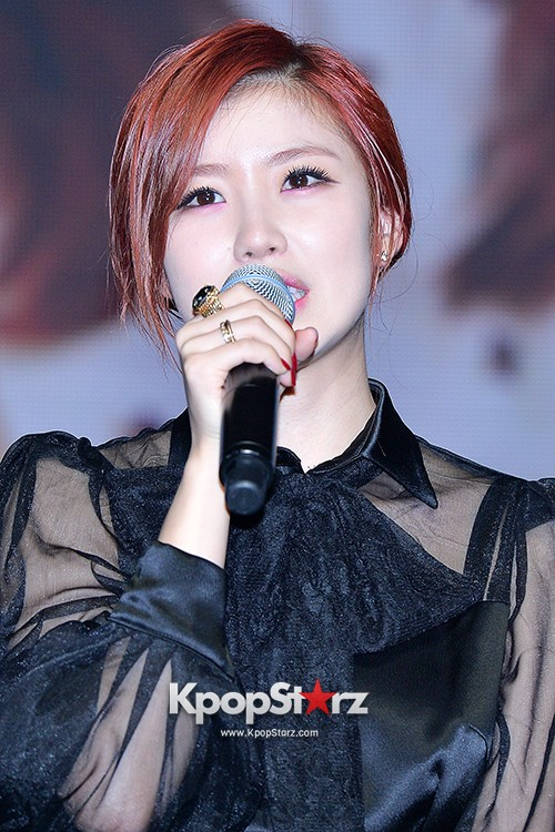 SECRET's Jun Hyosung Holds her 'TOP SECRET' Showcase'key=>26 count28