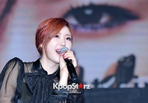 SECRET's Jun Hyosung Holds her 'TOP SECRET' Showcase'