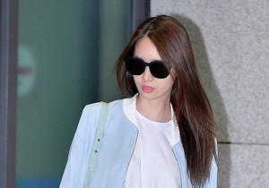 Girls Generation[SNSD] Yoona at Incheon Airport Back from Dubai