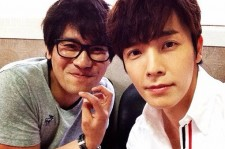 super junior donghae picture with kang seong pil