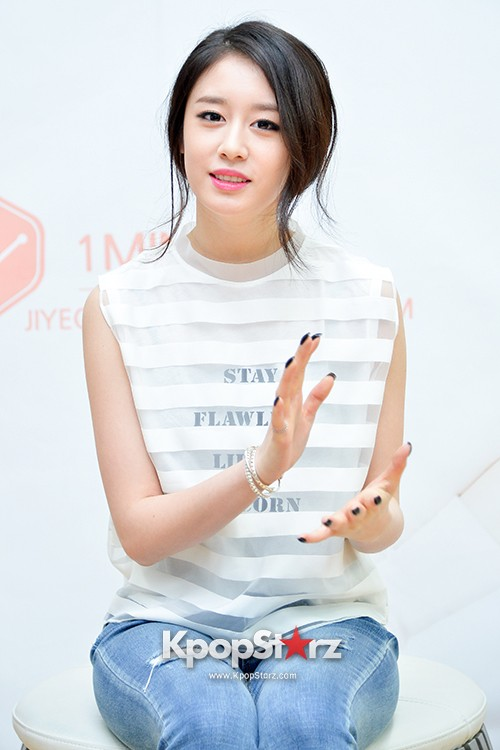 T-ara's Jiyeon Held a Press Conference for Never Ever with the Release of Her First Solo Mini-Albumkey=>0 count56
