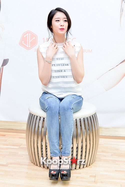 T-ara's Jiyeon Held a Press Conference for Never Ever with the Release of Her First Solo Mini-Albumkey=>21 count56