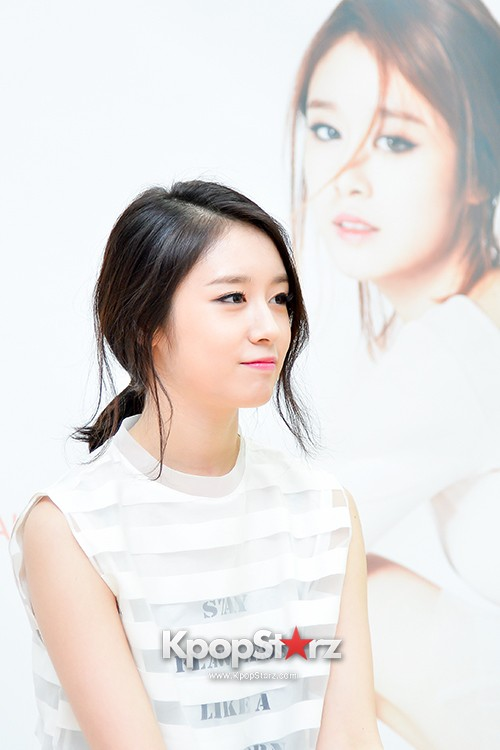 T-ara's Jiyeon Held a Press Conference for Never Ever with the Release of Her First Solo Mini-Albumkey=>40 count56