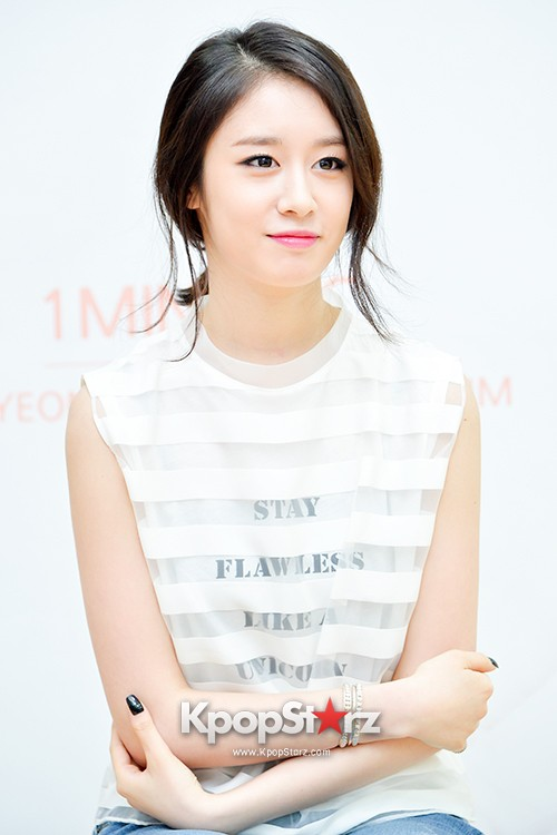 T-ara's Jiyeon Held a Press Conference for Never Ever with the Release of Her First Solo Mini-Albumkey=>41 count56