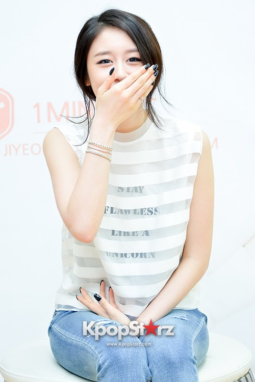 T-ara's Jiyeon Held a Press Conference for Never Ever with the Release of Her First Solo Mini-Albumkey=>47 count56