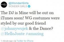 Wonder Girls twitter