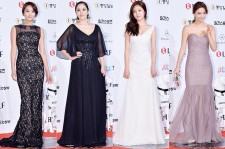 Park Jung Ah, Park Ji Yoon, Baek Jin Hee and Son Tae Young at The 50th Annual Baeksang Arts Awards