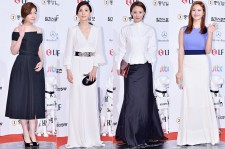 Shim Eun Kyung, Lee Bo Young, Jo Eun Ji and Han Groo at The 50th Annual Baeksang Arts Awards