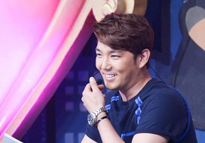 MC Super Junior's Kangin at MBC Music Show Champion