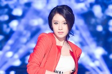 T-ara's Jiyeon at MBC Music Show Champion