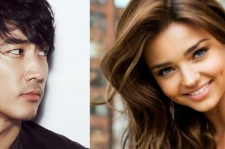 Song Seung Hun and Miranda Kerr