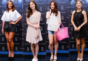 Sistar's Hyorin, Secret's Han Sunhwa & Song Jieun, Bada