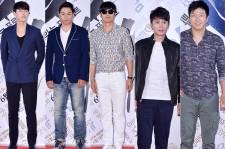Hyunbin, Joo Jinmo, Lee Jonghyuk, Kim Sooro and Kim Minjong