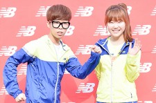 AKMU at New Balance 2014 New Race Seoul Marathon
