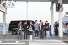 Super Junior Departing for Los Angeles