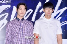 2PM's Hwang Chansung 2AM's Im Seulong Attend 'Man on High Heels' Movie VIP Premiere