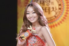 Sistar's Hyorin at 'Sun's Mate Tea' Dance Showcase