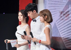 MC Hyeri(Girl's Day), Jiyeon(T-ara) and Jungwook at SBS MTV The Show : All about K-POP