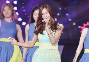 G.NA at SBS MTV The Show : All about K-POP