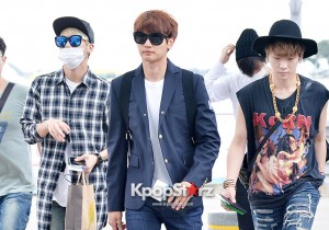 SHINee at Incheon Airport to Brazil for Music Bank Live in Brazil