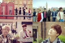 U.S. Billboard Spotlights B.A.P's 'Where Are You? What Are You Doing?' MV