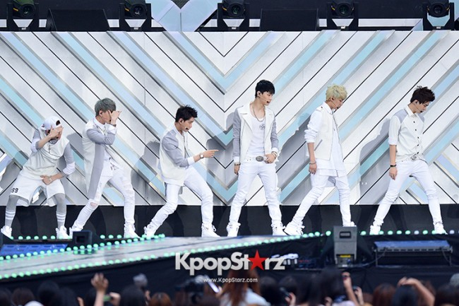 GOT7 Performed at The 20th Anniversary of the 'We Love Korea 2014 Dream Concert' key=>1 count6