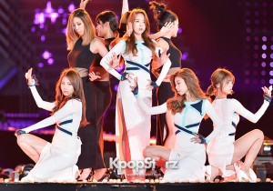 Girls Day Performed at The 20th Anniversary of the 'We Love Korea 2014 Dream Concert'