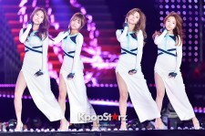 Girls Day performing at The 20th Anniversary of the We Love Korea 2014 Dream Concert