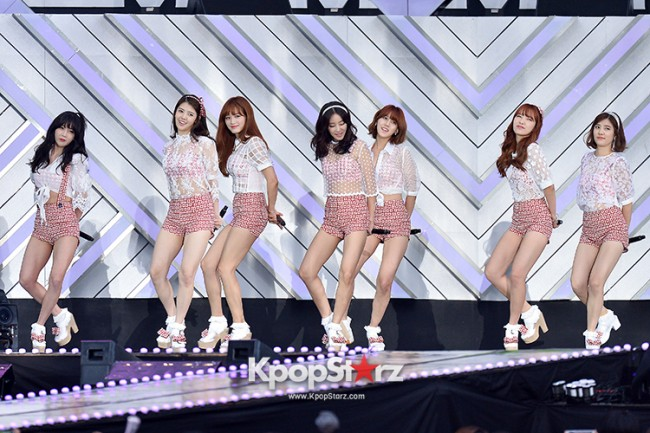 Rainbow Performed at The 20th Anniversary of the 'We Love Korea 2014 Dream Concert' key=>1 count8