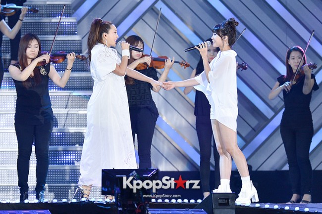 Bada, Yunhan and Jung Eunji Performed at The 20th Anniversary of the 'We Love Korea 2014 Dream Concert' key=>2 count12