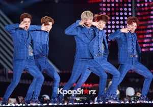 VIXX Performed at The 20th Anniversary of the 'We Love Korea 2014 Dream Concert'