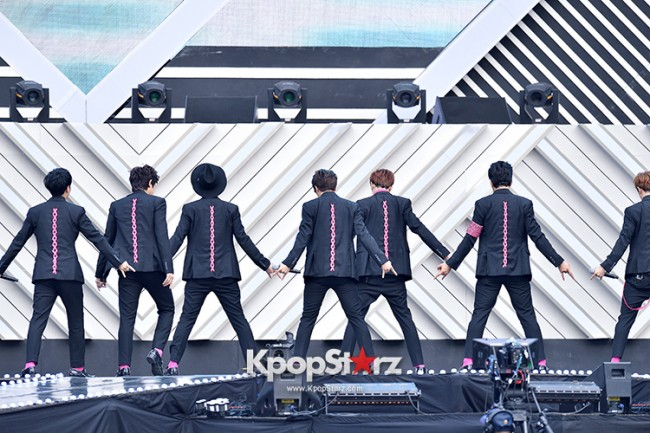 N.Sonic and M.pire Performed at The 20th Anniversary of the 'We Love Korea 2014 Dream Concert' key=>4 count8