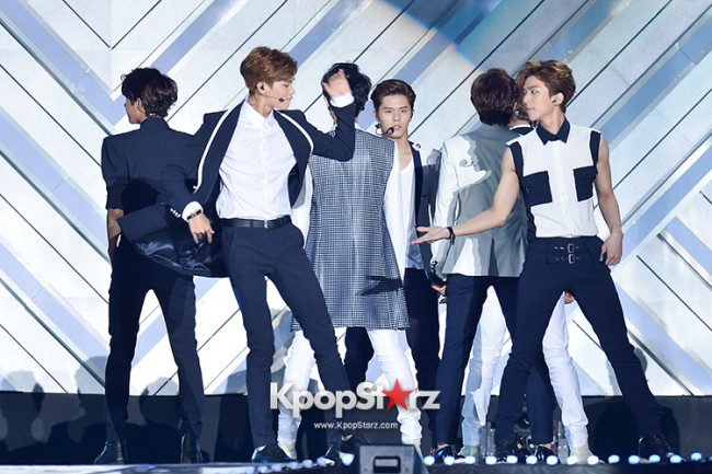 ZE:A Performed at The 20th Anniversary of the 'We Love Korea 2014 Dream Concert' key=>2 count17
