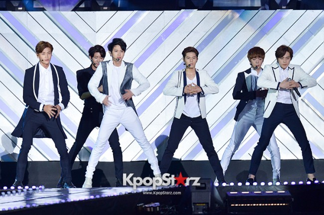 ZE:A Performed at The 20th Anniversary of the 'We Love Korea 2014 Dream Concert' key=>6 count17