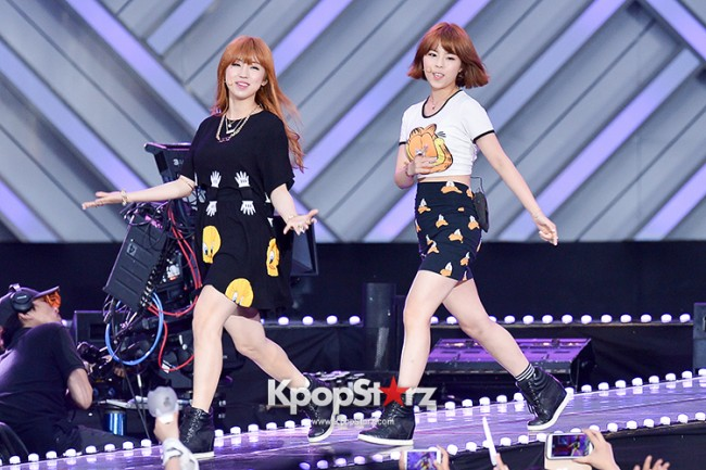 Tiny-G Performed at The 20th Anniversary of the 'We Love Korea 2014 Dream Concert' key=>3 count8