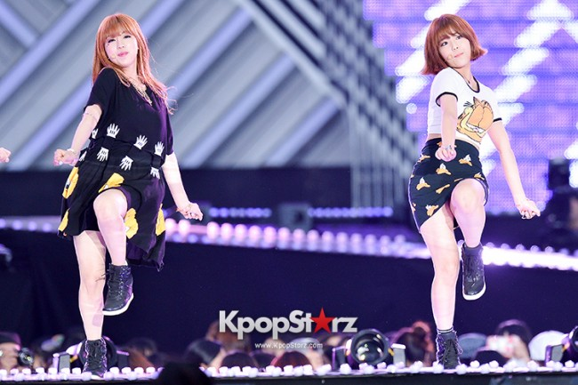 Tiny-G Performed at The 20th Anniversary of the 'We Love Korea 2014 Dream Concert' key=>6 count8