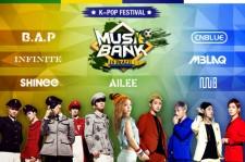 Music Bank in Brazil