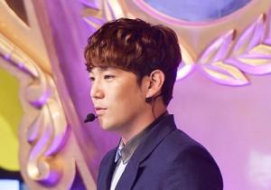MC Super Junior's Kangin at MBC Music Show Champion