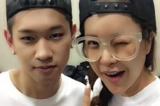 baek ji young picture with crush