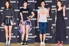 Oh Yoon Ah, Yoon So Yi, Lee Si Young and Lee Chung Ah Attend NIKE Gangnam Flagship Store Launch Event