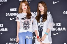 4Minute's Gayoon and Sohyun Attend NIKE Gangnam Flagship Store Launch Event