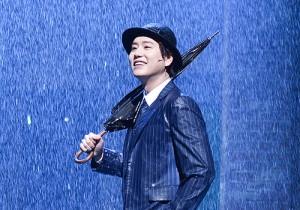 Super Junior's Kyuhyun at Singin' in the Rain Musical Press Call