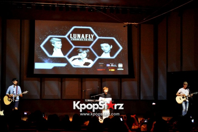 Lunafly Successfully Holds A Memorable And Enjoyable [From Us To You] Fan Meet In Singapore  [PHOTOS]key=>3 count56