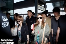 TVXQ, Girls' Generation, Leaving for Los Angeles [PHOTOS]