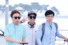 Infinite Challenge Members at Incheon Airport to Brazil for the Cheerleading Project