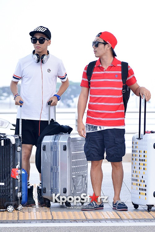 Infinite Challenge Members at Incheon Airport to Brazil for the Cheerleading Projectkey=>16 count32
